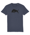India Ink Grey Bull Organic Cotton T-Shirt