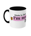 I'm not cheap Two Toned Mug
