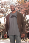 Charcoal Bull Organic Cotton T-Shirt