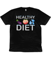 Healthy Diet Organic Cotton T-shirt