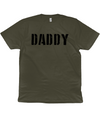 Army Green Daddy Organic Cotton T-Shirt