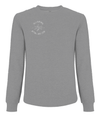 Queens Athletics Emblem Organic Cotton Raglan Sweatshirt