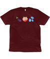 Healthy Diet Emojis Organic Cotton T-shirt