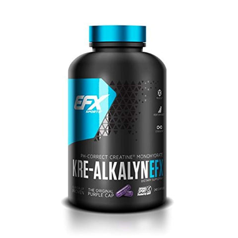 EFX Sports Kre-Alkalyn EFX, 240 Capsules