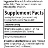 Garden of Life mykind Organics Oil of Oregano Seasonal Drops 1 fl oz (30 mL) Liquid, Concentrated Support 60% Carvacrol/2% Thymol, Alcohol Free, Organic...