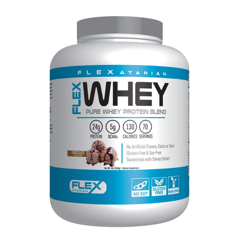 Flexatarian 100% Whey Protein, Chocolate, 5 Pound