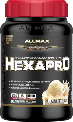 ALLMAX Nutrition Hexapro Ultra-Premium Protein Blend, Chocolate, 5.5 lbs