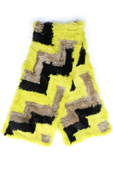 JEFFREY SCARF-ACID/TAN/BLACK