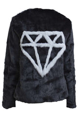 SHINE BRIGHT JACKET- BLACK