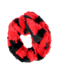 SOFIE COWL - RED/BLACK