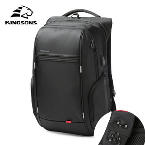 Anti-theft and Waterproof  Unisex laptop Backpack with USB Charge