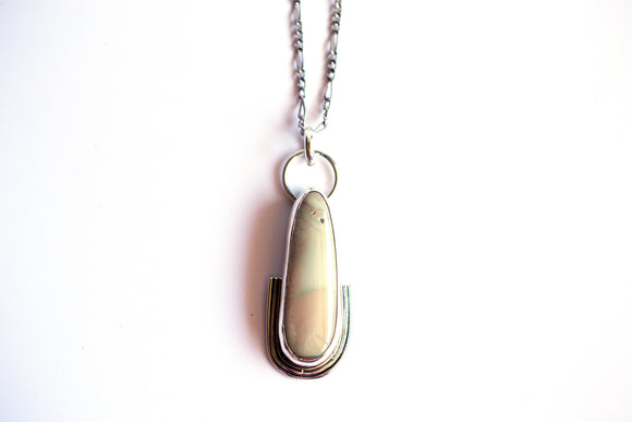 Imperial Jasper Frequency Necklace #2