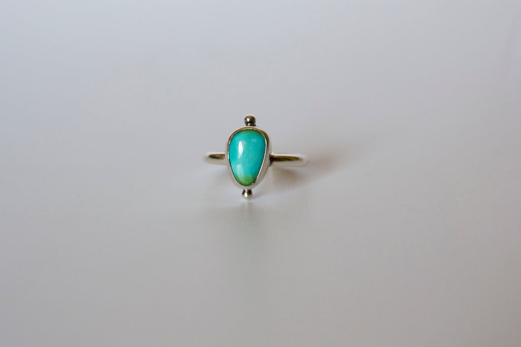 Sonoran Gold Turquoise Orbit Ring- size 5