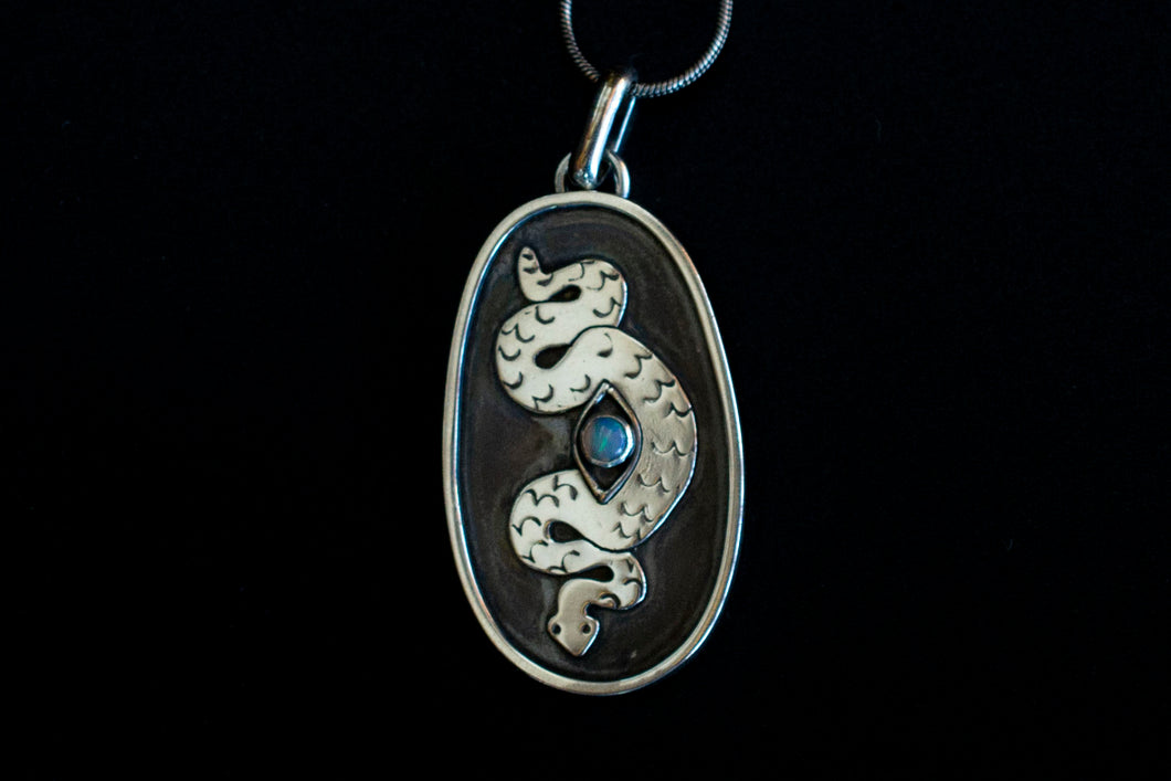 Serpent Talisman Necklace #2