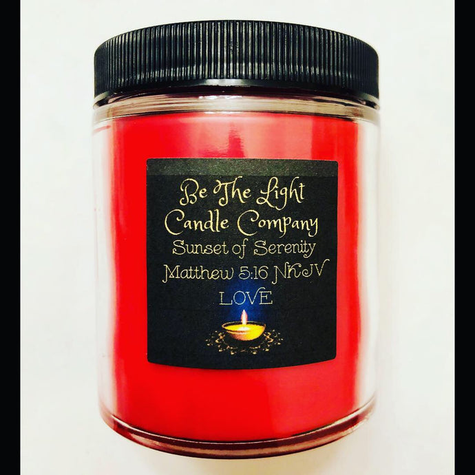 Sunset Of Serenity Candle