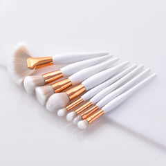 8 Pcs Makeup Brush Kit
