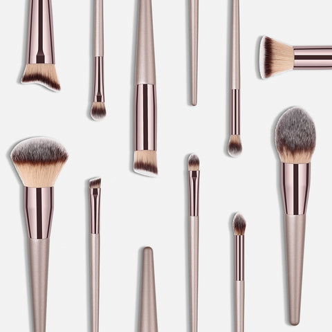 10 Pc Wooden brush set