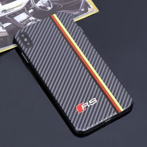 Audi RS Carbon Fiber iPhone Case