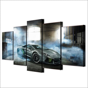 Lamborghini Aventador Canvas Wall Art