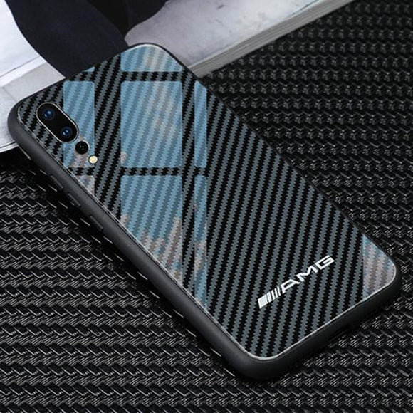 AMG Huawei & Honor Carbon Fiber Cases