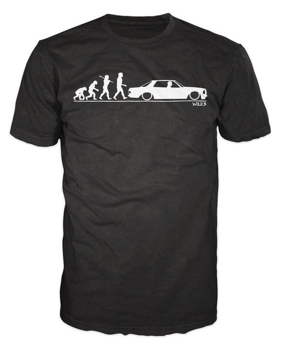 W123 Mercedes Coupe Evolution Men's T-shirt