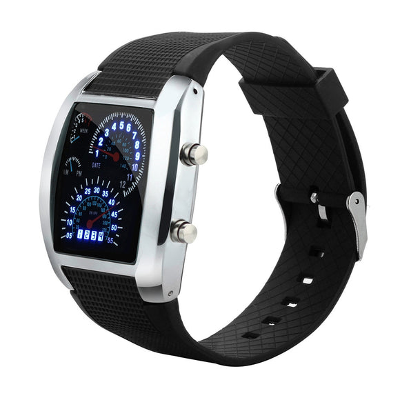 Speedometer LED Watch