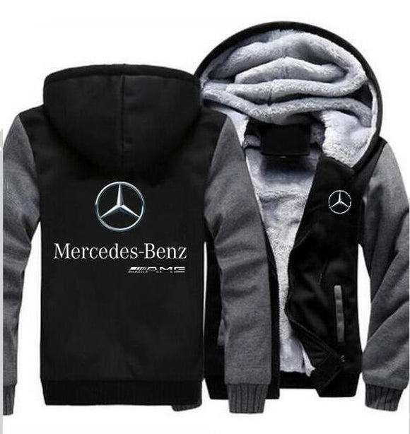 Mercedes Benz Men's Winter Hoodie
