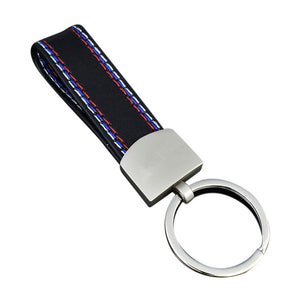 BMW M Leather Keychain