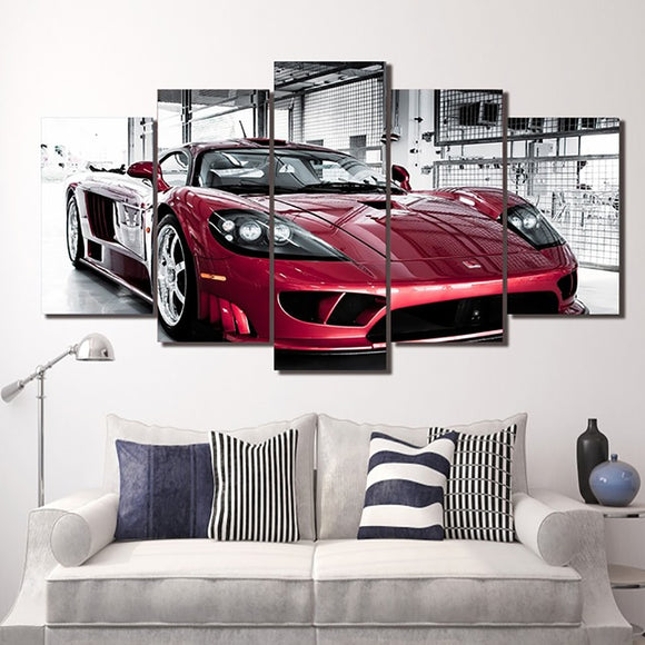 Saleen S7 Canvas Wall Art