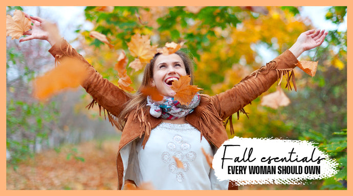 5 Fall Essentials Every Woman Should Own