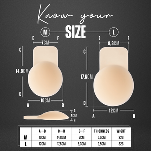 MATTE INSTANT BREAST LIFT (A - F CUP SIZE) + USA FREE SHIPPING!