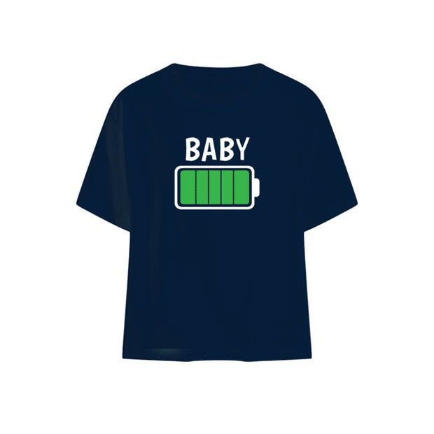 Baby Battery T-shirt White