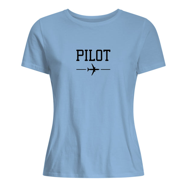 Pilot T-shirt Women Black
