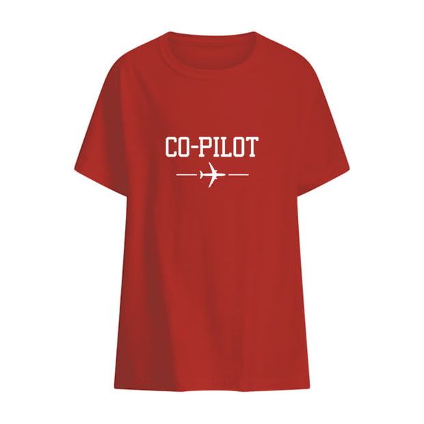Co-pilot T-shirt Kids White