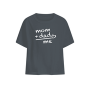 Mom + Dad = Me Baby T-shirt