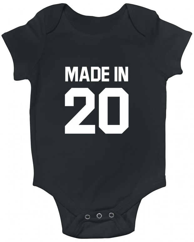 Made In (Year) White Baby Romper