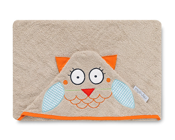 Owl  <br>Hooded Towel - Mooney's