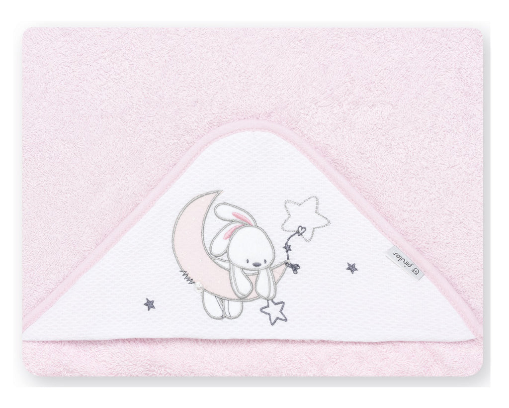 Bunny on Moon  <br>Hooded Towel - Mooney's