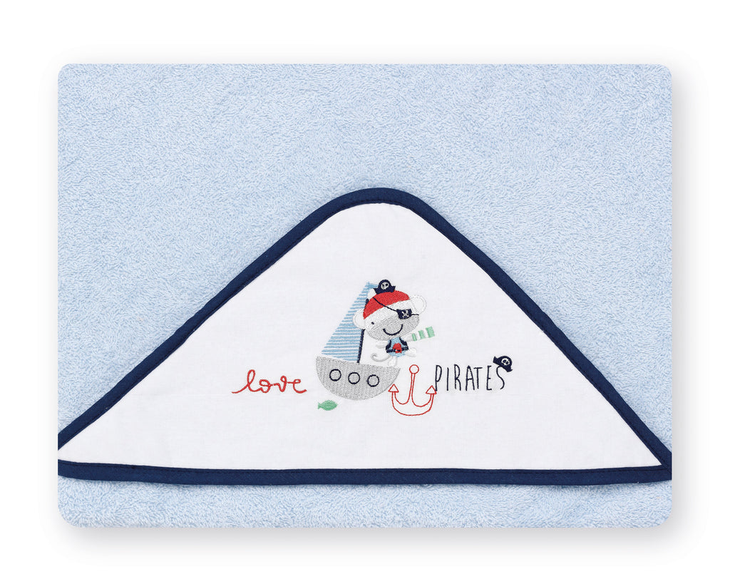 Pirate Ship  <br>Hooded Towel - Mooney's
