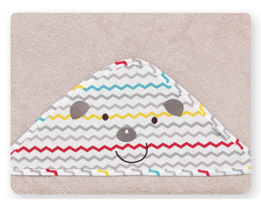 Smiling Porcupine  <br>Hooded Towel - Mooney's