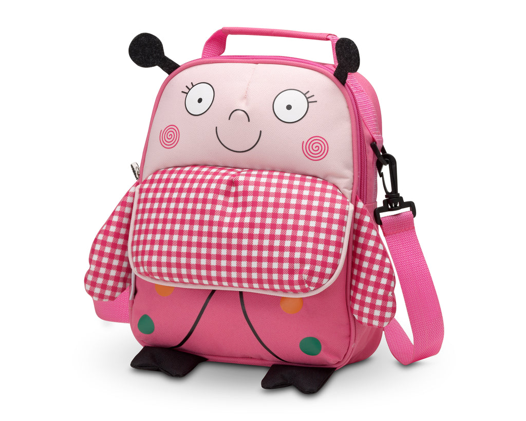 Pink Ladybug <br/>Child-Sized Backpack - Mooney's