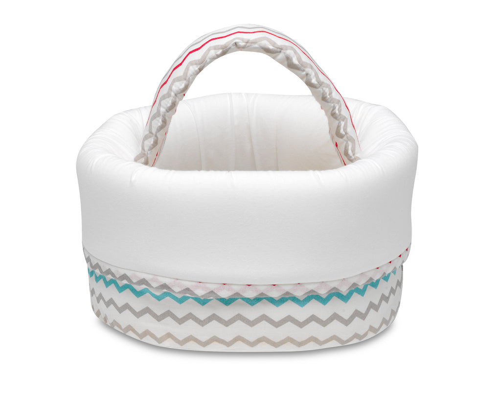 Waves  <br>Baby Basket - Mooney's