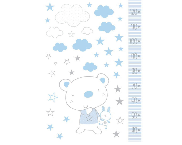 Bear & Bunny <br>Height Chart - Mooney's
