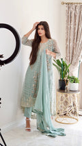 The Dina Mint | Luxury Formal Collection