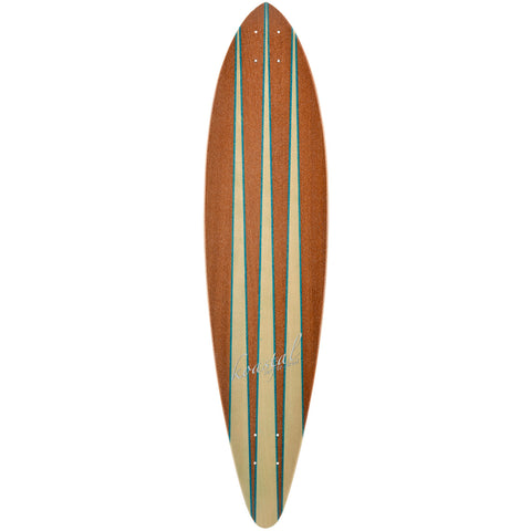 "Pin Tail - 38"" Longboard Skateboard - Deck"