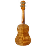 Island Ukulele Concert Custom Shark Curly Koa - SOLD