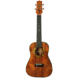 Island Ukulele Tenor Custom Curly Koa
