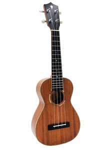 ALL NEW Kamoa® M5-C Deluxe (Ebony)- Concert Ukulele (100% Solid Wood)