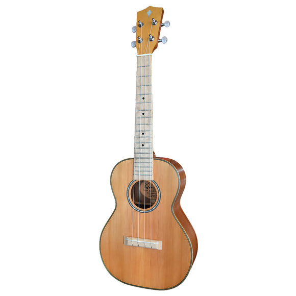 ALL NEW Kamoa® E5-T [TENOR] (100% solid wood Cedar top) FREE SHIPPING in USA PROMOCODE [SHIPFREE]