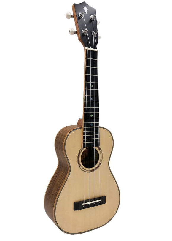 ALL NEW Kamoa® L5-C - Concert Deluxe Ebony (100% Solid Wood)